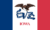 Iowa Flag Image