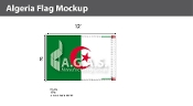 Algeria Flags 8x12 foot