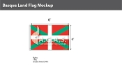 Basque Lands Flags 4x6 foot