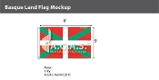 Basque Lands Flags 5x8 foot