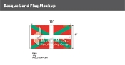 Basque Lands Flags 6x10 foot