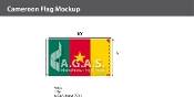 Cameroon Flags 6x10 foot