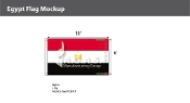 Egypt Flags 6x10 foot