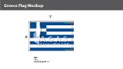 Greece Flags 8x12 foot