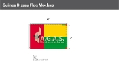 Guinea Bissau Flags 4x6 foot