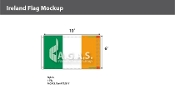 Ireland Flags 6x10 foot