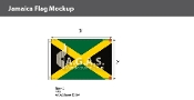 Jamaica Flags 2x3 foot