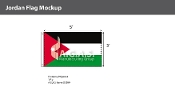 Jordan Flags 3x5 foot