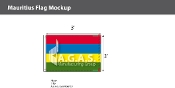 Mauritius Flags 2x3 foot