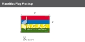 Mauritius Flags 3x5 foot
