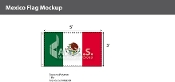 Mexico Flags 3x5 foot