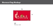 Morocco Flags 6x10 foot