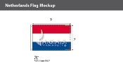 Netherlands Flags 2x3 foot