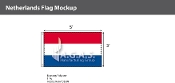 Netherlands Flags 3x5 foot