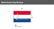Netherlands Flags 4x6 foot