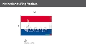 Netherlands Flags 8x12 foot