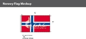 Norway Flags 3x5 foot