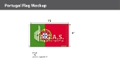 Portugal Flags 6x10 foot