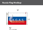 Russia Flags 12x18 inch