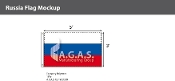 Russia Flags 3x5 foot