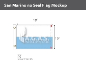 San Marino Flags 12x18 inch (no seal)