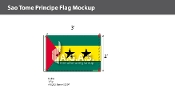 Sao Tome & Principe Flags 2x3 foot