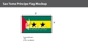 Sao Tome & Principe Flags 3x5 foot