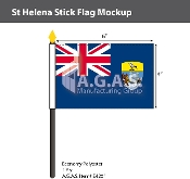 St. Helena Stick Flags 4x6 inch