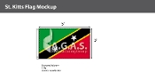 St. Kitts Flags 3x5 foot