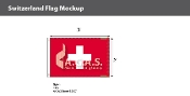 Switzerland Flags 2x3 foot