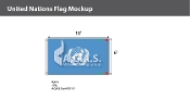 United Nations Flags 6x10 foot