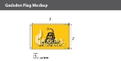 Gadsden Flags 2x3 foot