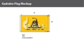 Gadsden Flags 3x5 foot