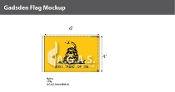 Gadsden Flags 4x6 foot