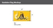 Gadsden Flags 6x10 foot