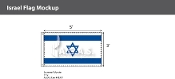 Israel Flags 3x5 foot