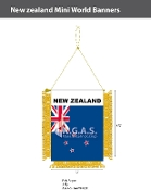 New Zealand Mini Banners 4.75x3.5 inch