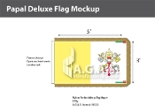 Papal Deluxe Flags 3x5 foot