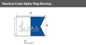 Alpha Deluxe Flags 4x6 foot