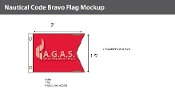 Bravo Deluxe Flags 1.5x2 foot