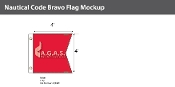 Bravo Deluxe Flags 4x4 foot