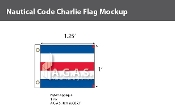 Charlie Deluxe Flags 1x1.25 foot