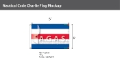 Charlie Deluxe Flags 4x6 foot