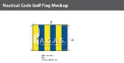 Golf Deluxe Flags 1.5x2 foot