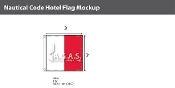 Hotel Deluxe Flags 3x3 foot