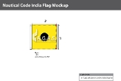 India Deluxe Flags 3x3 foot