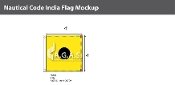 India Deluxe Flags 4x4 foot