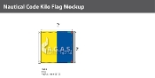 Kilo Deluxe Flags 2x2 foot