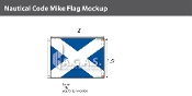 Mike Deluxe Flags 1.5x2 foot