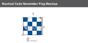 November Deluxe Flags 3x3 foot